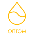 """Логотип компании """"Топливо оптом"""" - под темный фон"""