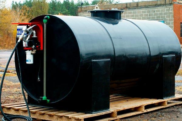 Очистка емкостей для хранения топлива и нефтепродуктов